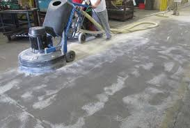 grinding vs acid etching concrete