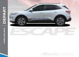 Ford Escape Stripes Depart Sides 2020 2021