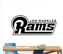 Amazon Com Adecalsnew Los Angeles Rams Football Team Vinyl Decal Wall Sticker Nfl Emblem Logo Sport Poster Home Interior Removable Decor 5 Home Kitchen