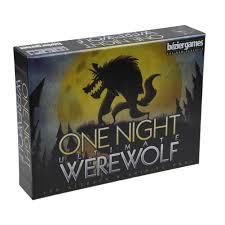 brand new one night ultimate werewolf