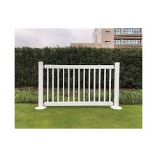 Signature Fencing Special Event Portable Pvc Fencing Traditional Style Hoover Fence Co