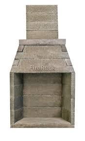 building an outdoor fireplace outdoor
