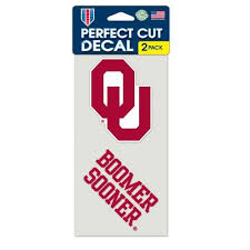 Oklahoma Sooners Decals University Of Oklahoma Flags At Flags Unlimited Us Flags
