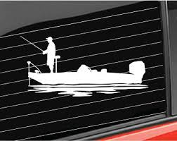 Fishing Boat Decal Etsy