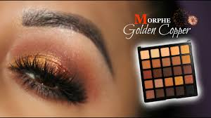 gold copper look feat morphe 25a