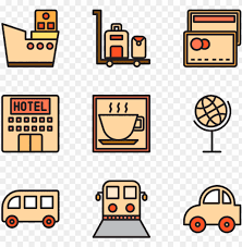 travel icon packs vector svg psd png