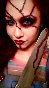 diy chucky costume chucky makeup