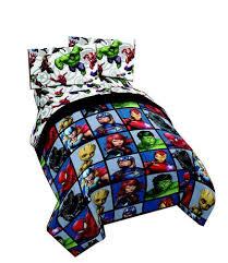 avengers 4pc twin bed set and bonus bag