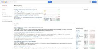 What Happened to Google Finance? – View ...
