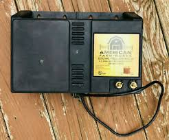 American Farm Works Electric Fence Controller 6 7 Joule Low Impedance Output Ebay