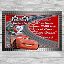 Gratis Cars Invitacion De Cumpleanos Para Imprimir Fiesta