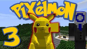 Pixelmon Ep. 3 - I FOUND A PIKACHU! (Minecraft Pokemon Mod) - YouTube