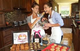 twin sisters build cookie business