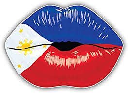 Amazon Com Kw Vinyl Philippines Flag Lips Truck Car Window Bumper Sticker Decal 5 Automotive