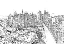 Kleuren Voor Volwassenen New York Met Afbeeldingen
