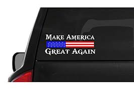 Make America Great Again M55 Usa Vinyl Sticker Car American Window Decal Walmart Com Walmart Com
