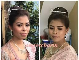 myanmar traditional bridal makeup