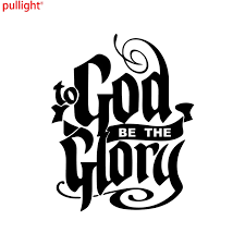 Attractive Creative To God Be The Glory Vinyl Decal Car Truck Window Sticker Bible Verse Scripture Vinyl Decal Decals Carvinyl Car Decal Aliexpress