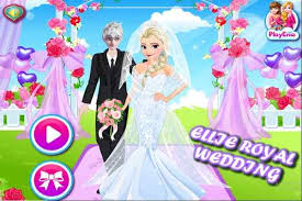 ellie royal wedding make up games