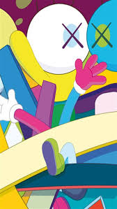 kaws iphone wallpaper mobile styles