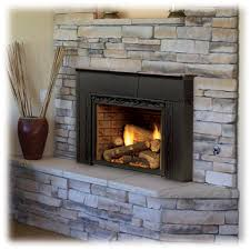 convert a wood fireplace to natural gas
