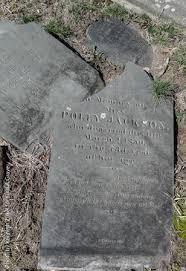 Polly Jackson (1777-1850) - Find A Grave Memorial