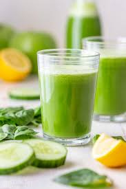 detox green juice happy foods