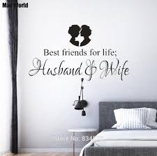 Best Friends For Life Husband Wife Wall Art Stickers Wall Decals Home Diy Decoration Removable Room Decor Wall Stickers A11 Wall Stickers Aliexpress