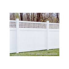 Bufftech Chesterfield Vinyl Fence Panels Westminister Accent Hoover Fence Co