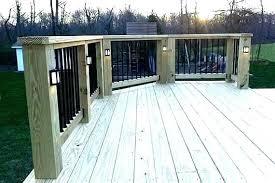 Deck Post Lights Solar Autoiq Co