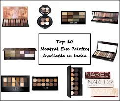 neutral eye shadow palettes in india