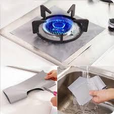 Protetor de fogão a gás 4 pçs/set, forro para fogão a gás, cozinha, fogão a  gás, acessórios protetor| | - AliExpress