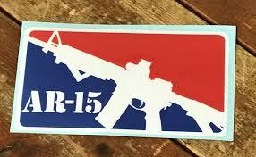 Ar 15 Vinyl Sticker Decal Army Surplus Warehouse Inc