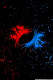 red and blue wallpapers group 87