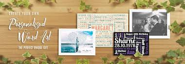 personalised wall art canvas prints