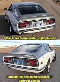 Bre Brock Designed Rear Spoiler 1970 78 240z 260z 280z