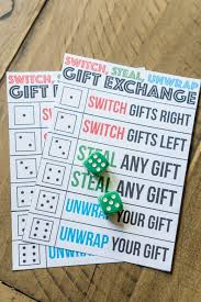 gift exchange game ever switch steal