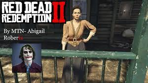 Abigail Roberts/Marston - Red Dead Redemption 2. (Addon- peds ...