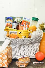 gift basket for the mon cold
