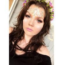 makeup i did for a renaissance fair