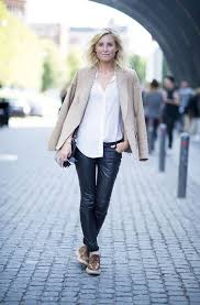 black leather pants to wear this fall