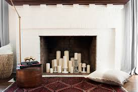 faux fireplace for fall coco kelley