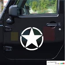 Car Decals Stickers And Vehicle Graphics From Ultimate Pro Jeep Wrangler Rubicon Star Decals Jeep Wrangler