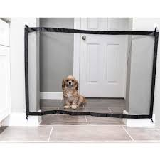 Allpaws Dog Mesh Gate Retractable Gates For Pet Dogs And Indoor Portable Baby Safety Fence Extra Wide Fabric Doorway Barrier Dog Fence Safety Fence Pet Dogs
