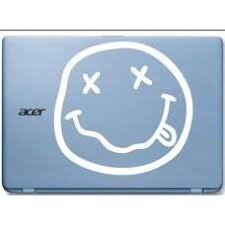 Nirvana Smiley Face Automobile Car Window Decal Tablet Pc Sticker Auto Mymonkeysticker Com