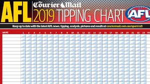 AFL 2019 tipping chart free download ...