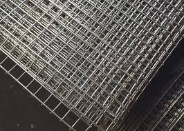 Stainless Steel Welded Wire Mesh Sheet 6ftx3ft 50x 50mm Mesh 10 Gauge