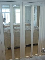 bifold closet doors with mirrors shoe