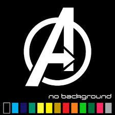 Avengers Sticker Vinyl Decal Marvel Comics Superheroes A Logo Car Window Truck Ebay