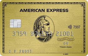 the gold rewards card american